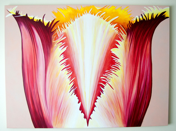 Large Fringed Tulip No. 2 - original