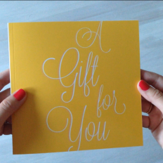 A Gift for You - Studio Eriksdotter gift card book
