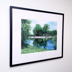 Evans Farm - limited edition print by Erica Eriksdotter